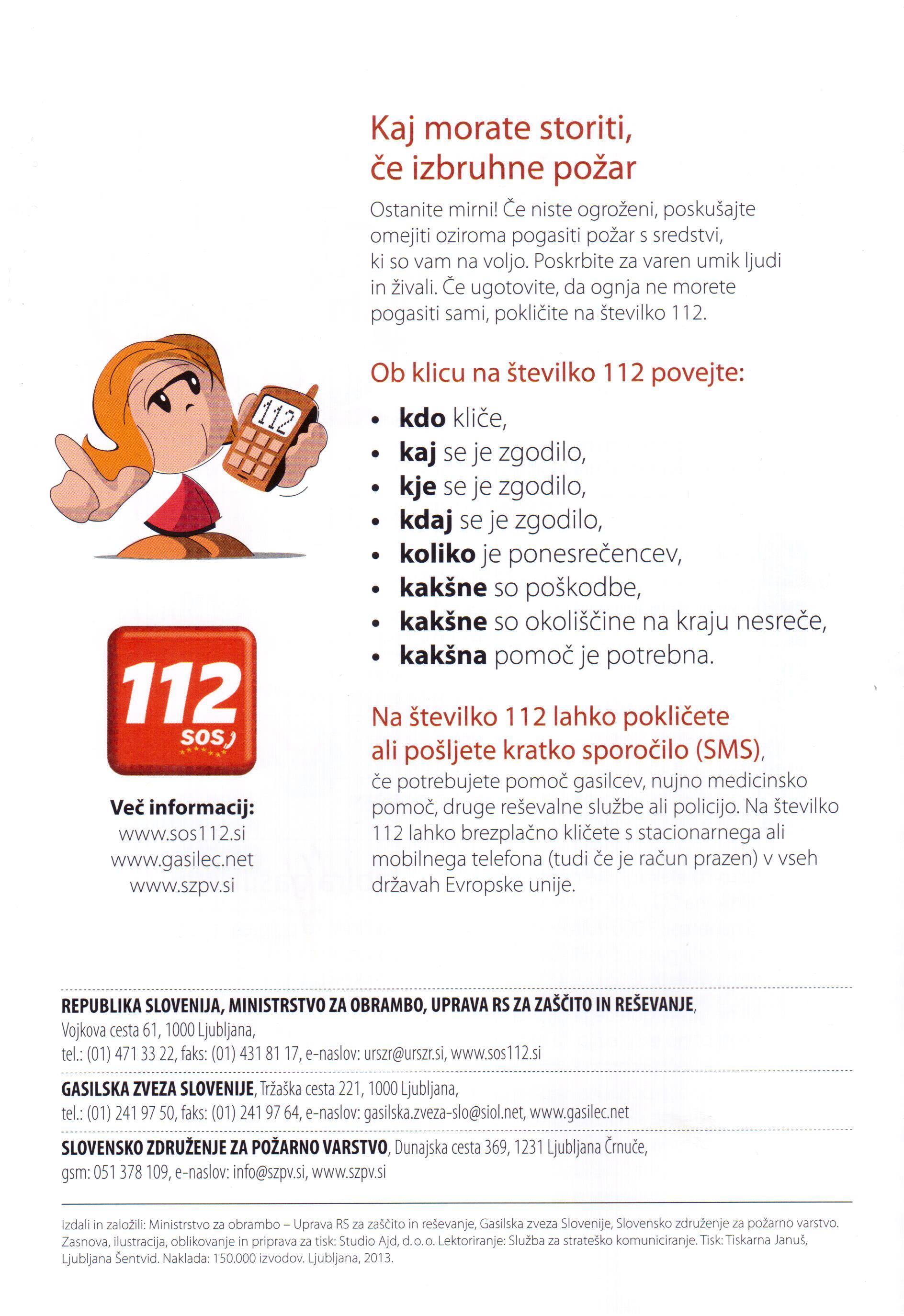 Oktober mesec varstva pred požari 2013 - Koroški gasilski zavod - Poklicni gasilci Ravne na Koroškem